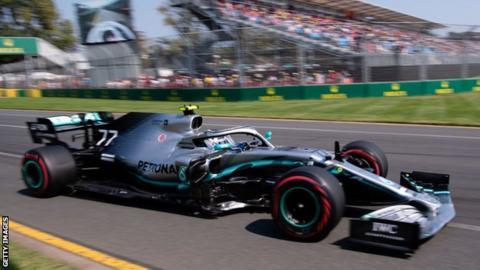 Valterri Bottas won this year's race in Melbourne