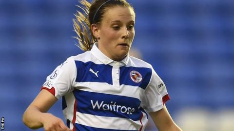 Reading women vice-captain Lauren Bruton
