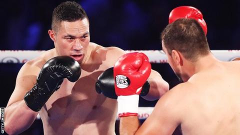 Parker now has 23 wins from 23 fights
