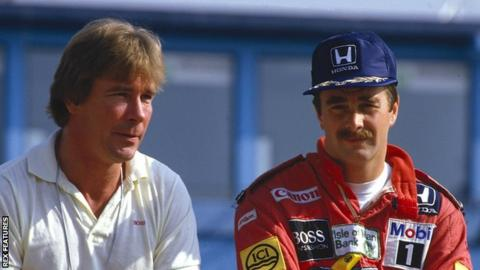 james hunt and nigel mansell