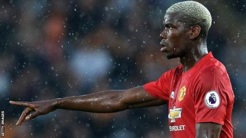 Manchester United's Paul Pogba