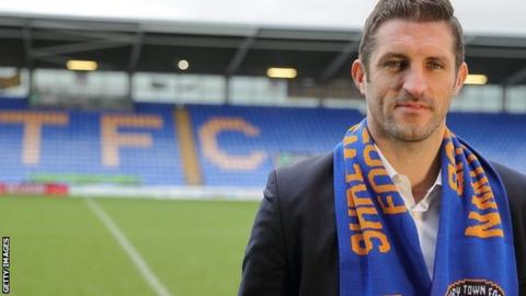 Sam Ricketts is Shrewsbury Town's youngest manager in 40 years