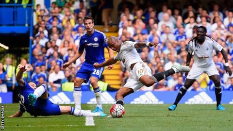 Andre Ayew at Chelsea