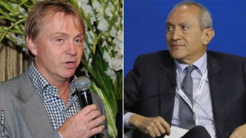 Wes Edens and Nassef Sawiris