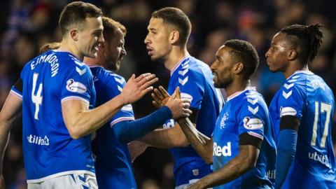 Rangers returned to action with Scottish Cup victory over Stranraer on Friday
