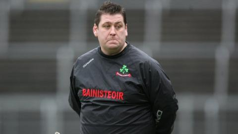 PJ O'Mullan will succeed Kevin Ryan as Antrim hurling manager