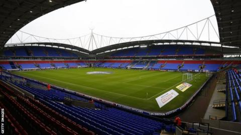 Bolton Wanderers four points adrift of safety in 23rd place in the Championship table