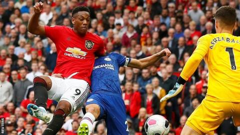 Man Utd: Anthony Martial to return to training before Liverpool match