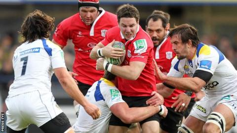 Ulster and Clermont Avergne met in the 2011/12 Heineken Cup