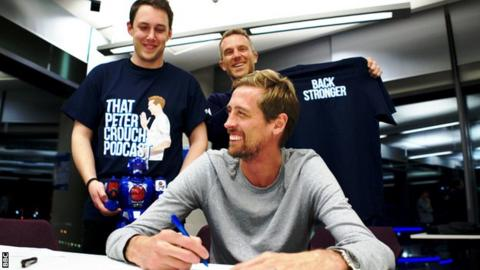 Peter Crouch signs off on season two of his podcast