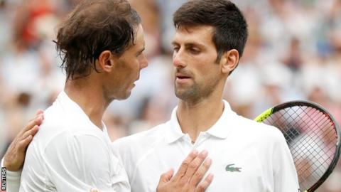 Djokovic Hails 'Phenomenal Achievement', Federer Three Wins From 100th Title