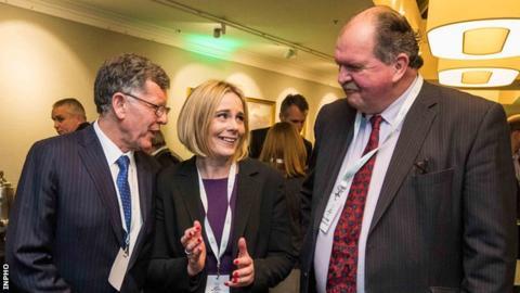 OCI presidency candidates Willie O'Brien, Sarah Keane and Bernard O'Byrne