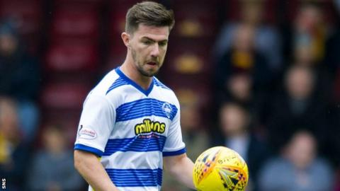 Ross Forbes in action for Morton