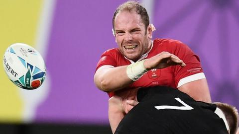 Alun Wyn Jones Alun Wyn Jones last game was for Wales in November's Rugby World Cup bronze final defeat against New Zealand