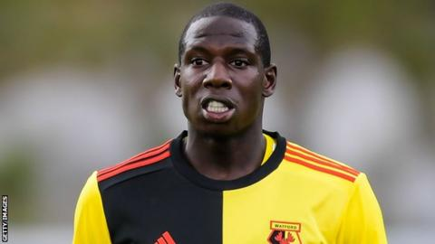 Doucoure playing for Watford