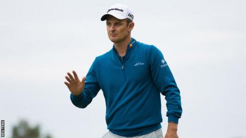 Justin Rose savours world No 1 status after runner-up finish