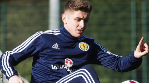 Tom Cairney has been called up for the first time