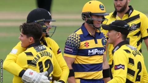 Glamorgan finished second behind Gloucestershire in the 2016 T20 South Group