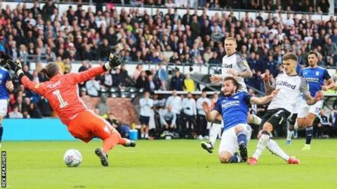 Jamie Paterson scores for Derby