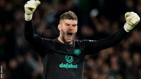 Fraser Forster has played 15 games for Celtic since returning in late August