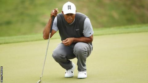 Tiger Woods at the WGC Match Play in Texas