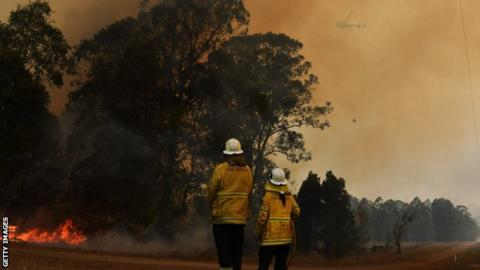 Bushfires in New South Wales