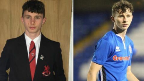 Rochdale midfielder Daniel Adshead
