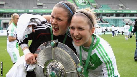 Laura Vetterlein celebrates