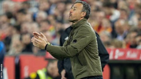 Luis Enrique resigns as Spain's coach