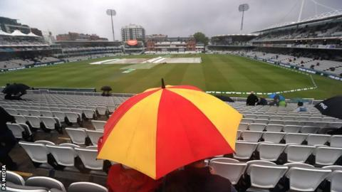 Ashes 2019: Rain washes out first day of Lord's Test