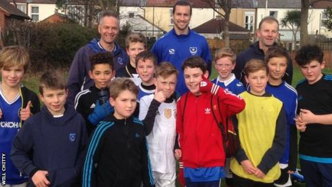 Christian Burgess and Skilfull Soccer Youth Under-12s