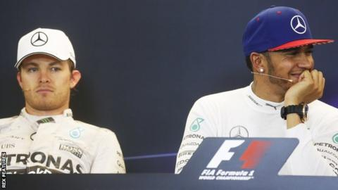 the latest a1466 10c33 Lewis Hamilton says team-mate Nico Rosberg complains a lot ...