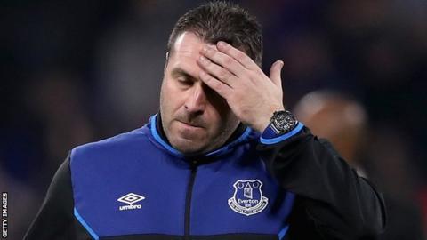 Everton caretaker boss David Unsworth