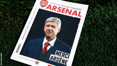 Wenger on Arsenal programme