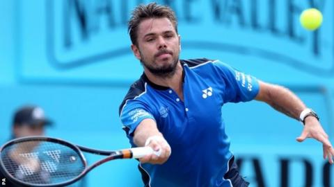 Sam Querrey dumps out Stanislas Wawrinka at Queen's