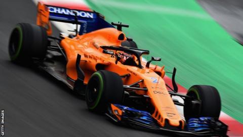 Stoffel Vandoorne of McLaren