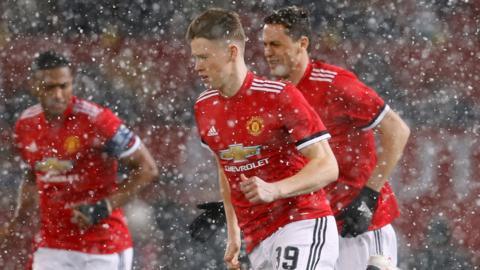 Manchester United's Scott McTominay