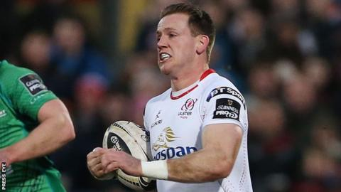 Craig Gilroy picked up an injury in the Pro12 win over Cardiff
