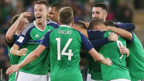 Northern Ireland will be hoping to be celebrate a goal or two when they meet South Korea in Belfast