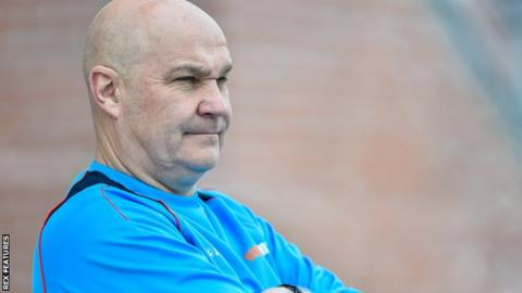 Eastleigh manager Richard Hill