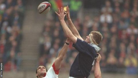Martin Johnson and Doddie Weir