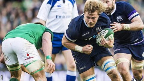 Scotland forward David Denton retires from rugby on medical grounds