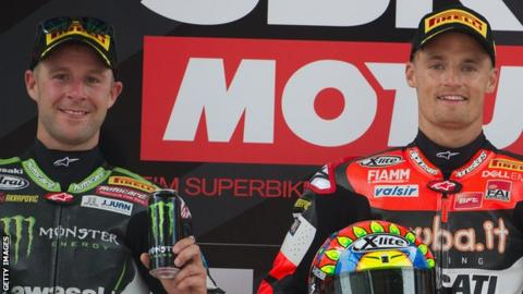 Jonathan Rea extended his series lead while Chaz Davies made it two wins in two days