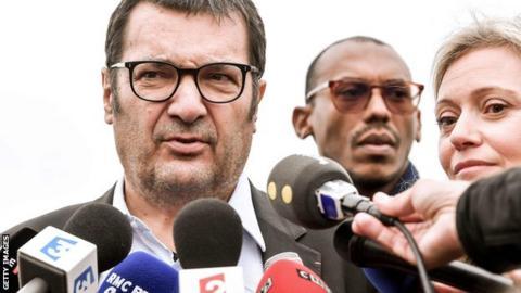 FP general manager Didier Quillot (left) and president Nathalie Boy de la Tour