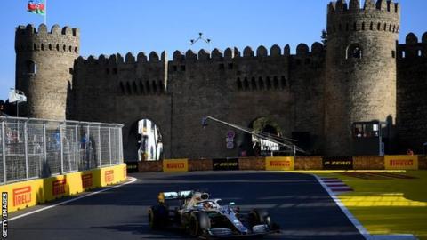 Azerbaijan Grand Prix in Baku