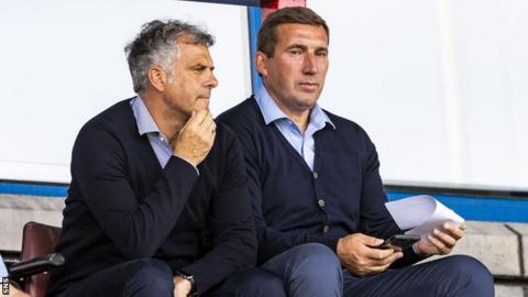 Darren Jackson and Alan Stubbs
