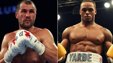 Kovalev and Yarde