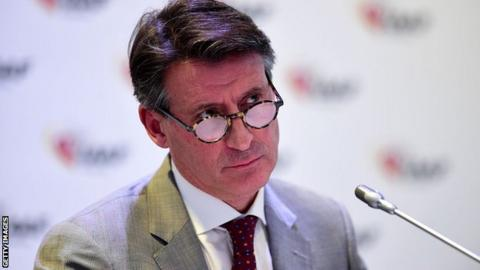 3c7a15219b7 Mo Farah backs Lord Coe to heal athletics amid doping problems - BBC ...