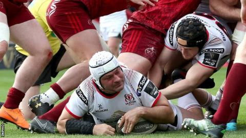 Best has scored three tries in 10 appearances for Ulster this season