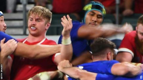 Rugby World Cup 2019: Aaron Wainwright says Vahaamahina elbow was 'not nice'